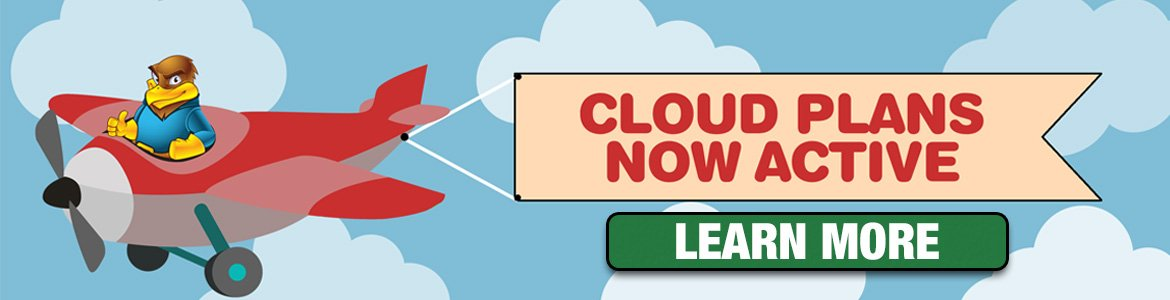 Cloud Hosting Banner